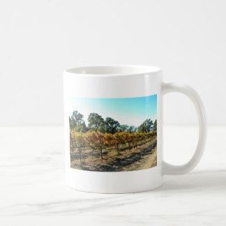 Wine Grapes in Mendocino County, California Mugs