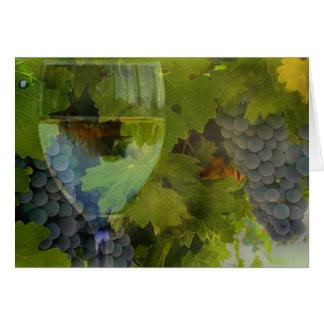 Wine Happy Birthday Card