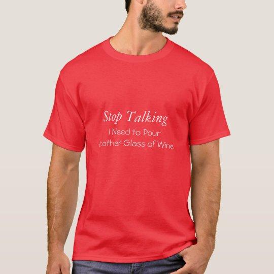 Wine Humour T shirt II