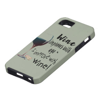 Wine Improves with age I improve with Wine cover