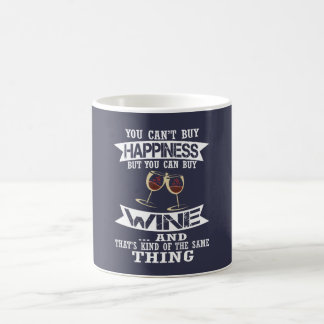 Wine is Happiness Coffee Mug