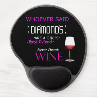 Wine Is My BFF Mouse Pad