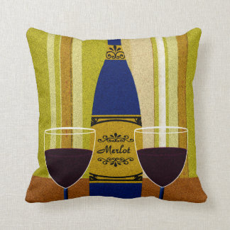 Wine It's Not Good To Keep Things Bottled Up Cushion