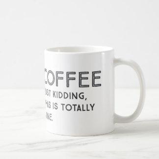 Wine Joke Coffee Mug