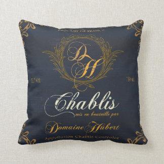 Wine Label Art ,Wine Chateaux II Pillow