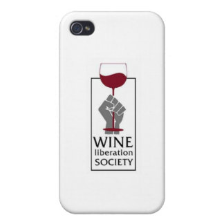 Wine Liberation Society iPhone 4 Case