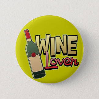 Wine Lover 6 Cm Round Badge