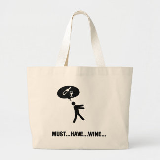 Wine Lover Canvas Bags