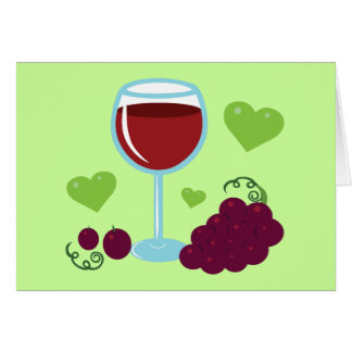 Wine Lover Greeting Card