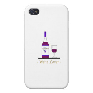 WINE LOVER (SINGLE BOTTLE) CASE FOR iPhone 4