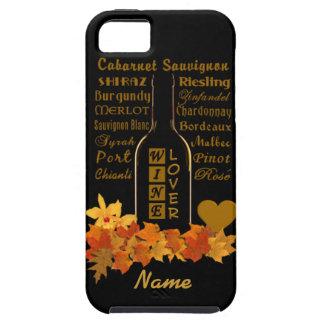 Wine Lover's custom iPhone 5 Case-Mate