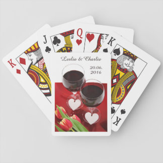 Wine Lovers' custom playing cards