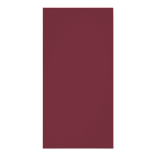 Wine Magenta Color Trend Blank Template Photo Cards
