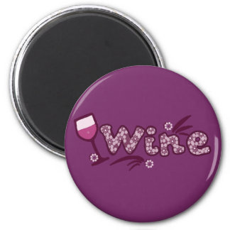Wine Refrigerator Magnet