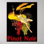 Wine Maid Pinot Noir Poster