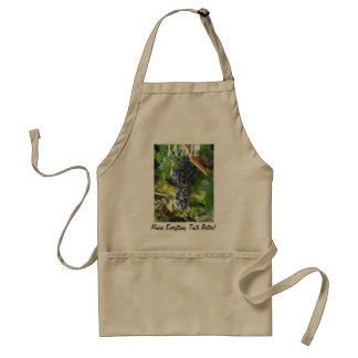 Wine Makes Everything Taste Better Aprons