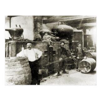 Wine making 1900 1 postcard