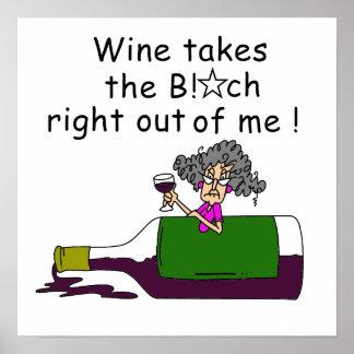 Wine Mellows Me Print