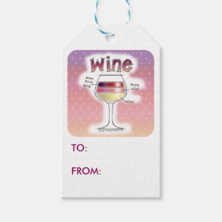 WINE, MORE WINE, EVEN MORE WINE GIFT TAGS