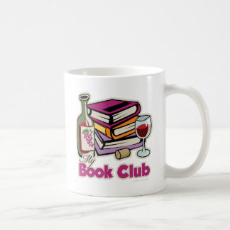 Wine: My Book Club Coffee Mug