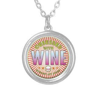 Wine Obsessed R Personalised Necklace