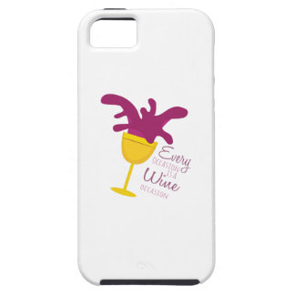 Wine Occasion iPhone 5/5S Cover