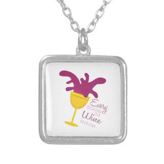 Wine Occasion Custom Necklace