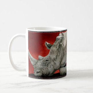 Wine-oceros Classic White Coffee Mug
