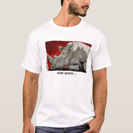 Wine-oceros T-Shirt