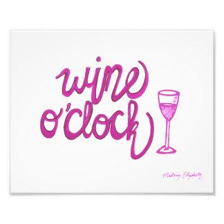 Wine O'Clock Photograph