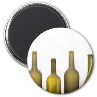 Wine Oh! 6 Cm Round Magnet