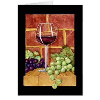 Wine on the Shelf Card
