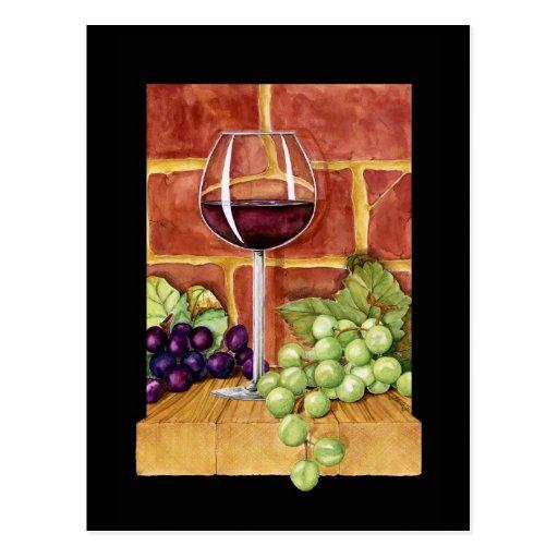 Wine on the Shelf Postcards