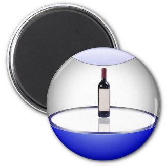 Wine Orb 6 Cm Round Magnet