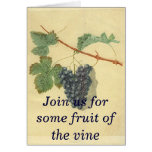 Wine Party Invitation Greeting Card