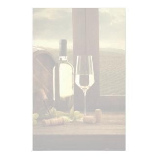 Wine Personalised Stationery