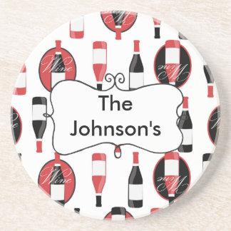 Wine Personalized Coaster