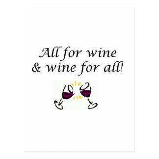 Wine! Postcard