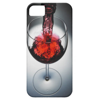 Wine poured in glass iPhone 5 case