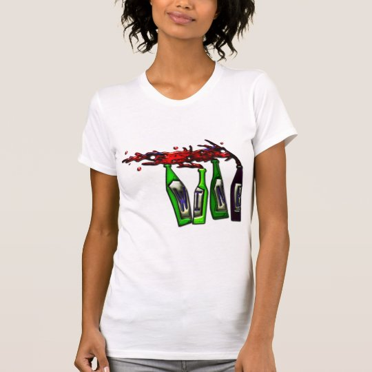 Wine Pouring from Bottles T-Shirt