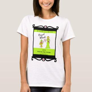 Wine Prince & Princess Royal Blush Faux Wine Label T-Shirt