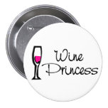 Wine Princess Buttons