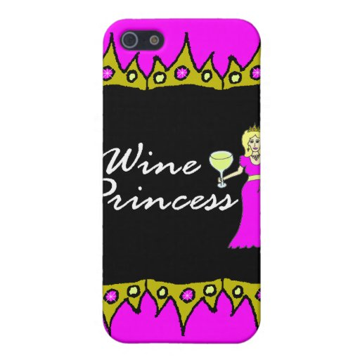Wine Princess Royal Crowns iPhone 5 Cases