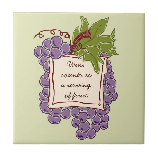 Wine Quote Tile Trivet