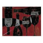 Wine Selection Postcard
