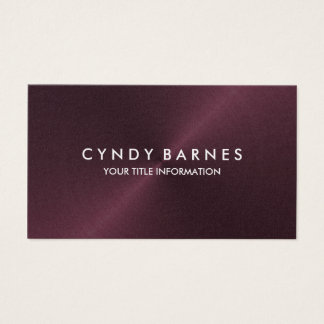 Wine Sheen Business Card