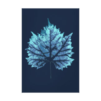 Wine sheet autumn canvas print