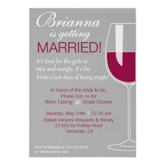 Wine Shower Card