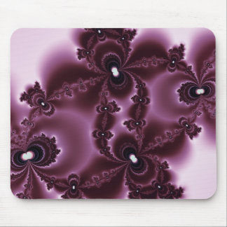 Wine Stain Fractal Mouse Mat