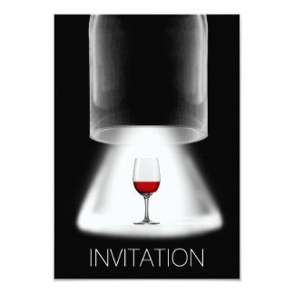 Wine Tasting Cocktail Party Vip Invitation